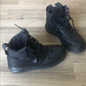 """All Black Nike AF 1 *Like New"""" Men's size 6.5"""